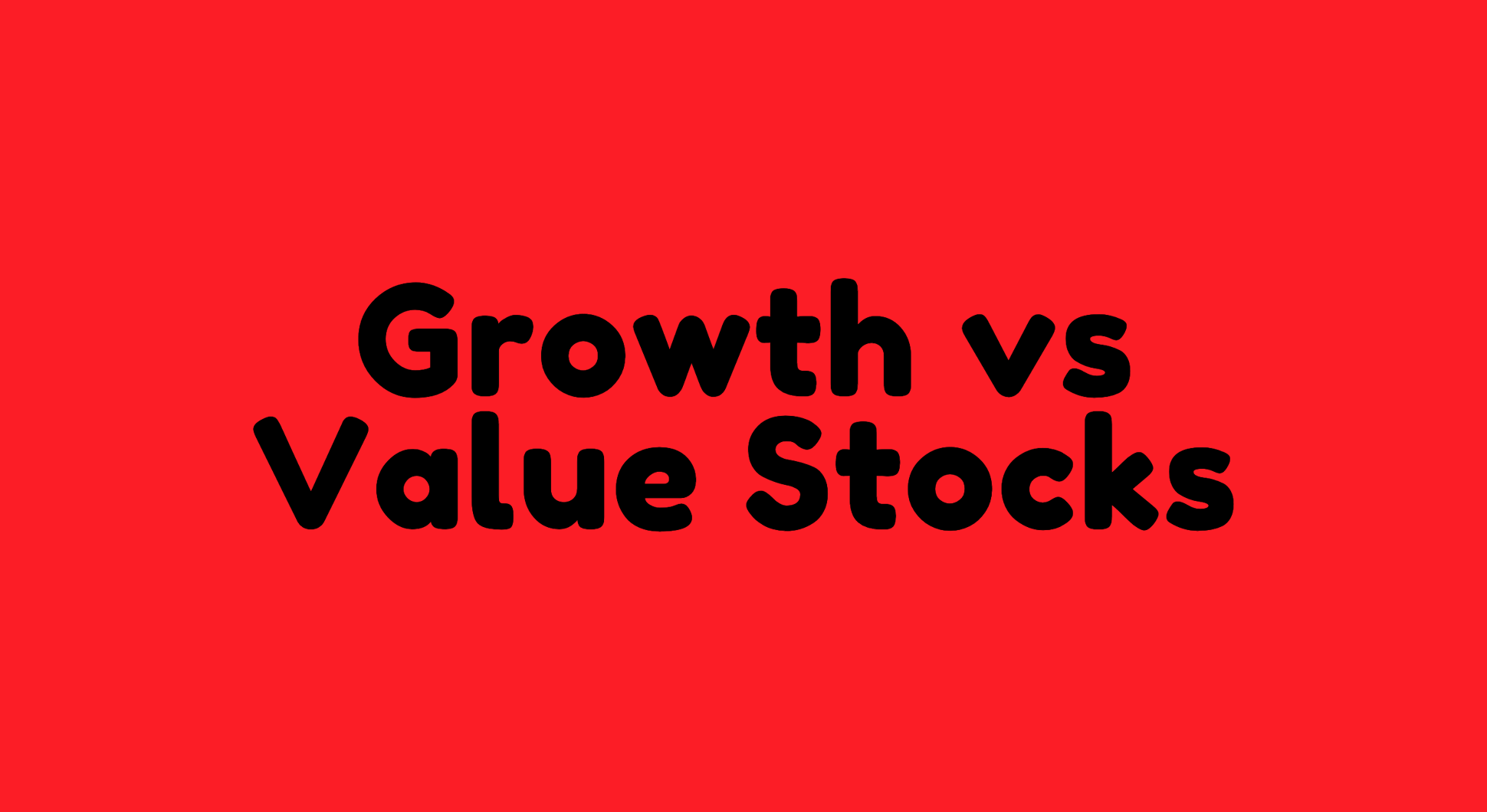 Growth or Value at All Cost? - The Average Joe